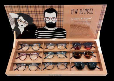 Présentoir de lunettes HW Rendell