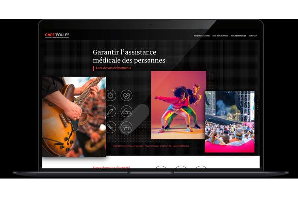 Image du site internet pour CareFoules